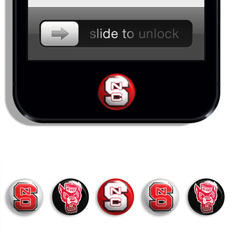 NC State Wolfpack Udots iPhone iPad Buttons - Spirit Gear Central