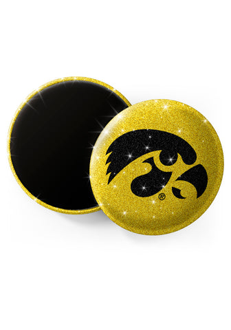 Iowa Hawkeyes Glitter Magnets