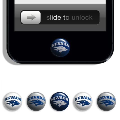 Nevada Wolf Pack Udots iPhone iPad Buttons - Spirit Gear Central