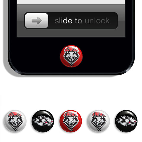 New Mexico Lobos Udots iPhone iPad Buttons - Spirit Gear Central