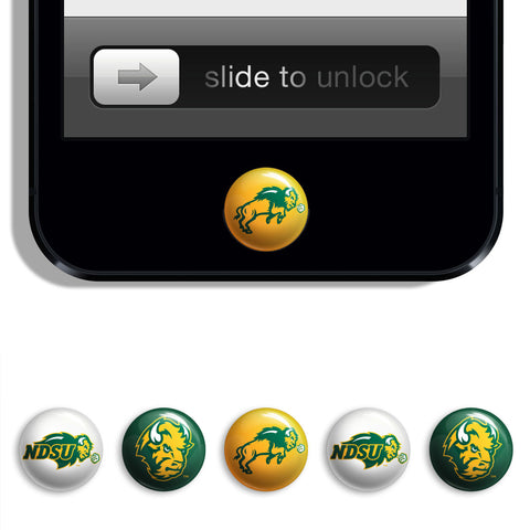 NDSU Bison Udots iPhone iPad Buttons - Spirit Gear Central