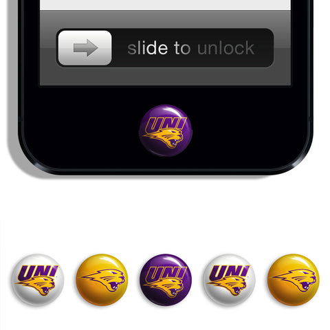 Northern Iowa Panthers Udots iPhone iPad Buttons - Spirit Gear Central