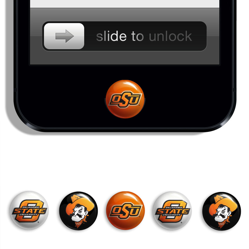 70269c36e75 Oklahoma State Cowboys Udots iPhone iPad Buttons - Spirit Gear Central