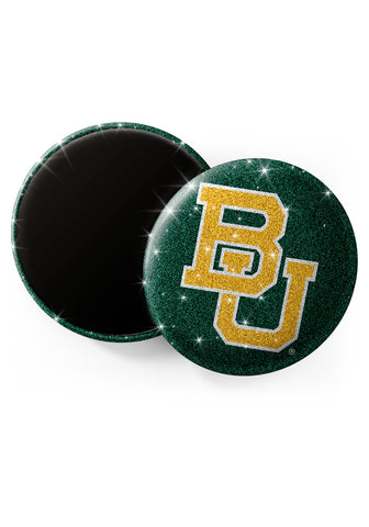 Baylor Bears Glitter Magnets
