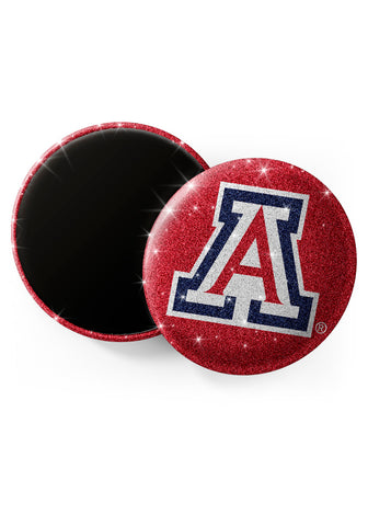 Arizona Wildcats Glitter Magnets