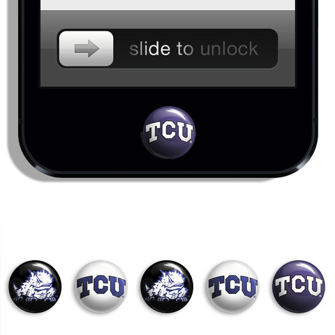 TCU Horned Frogs Udots iPhone iPad Buttons - Spirit Gear Central