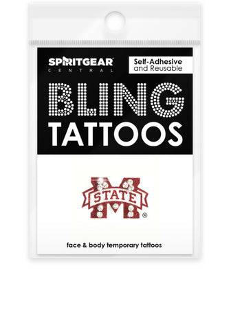 Mississippi State Bulldogs Bling Tattoos