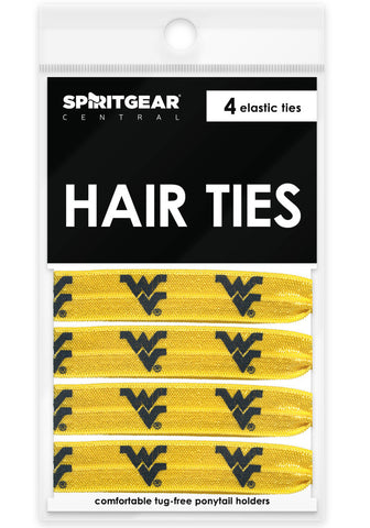 West Virginia Mountaineers Hair Ties - Spirit Gear Central