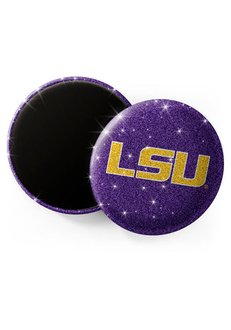 LSU Tigers Glitter Magnets