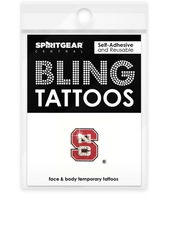NC State Wolfpack Bling Tattoos