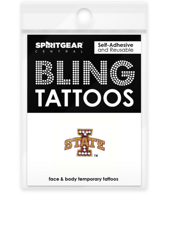 Iowa State Cyclones Bling Tattoos