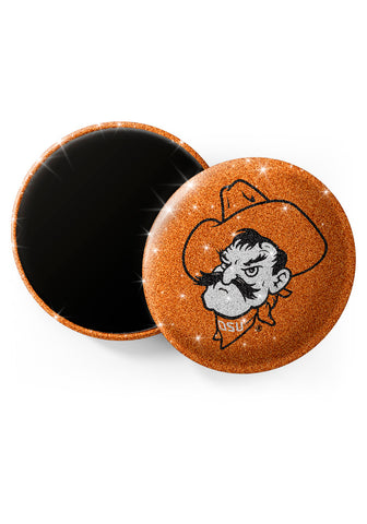 Oklahoma State Cowboys Glitter Magnets