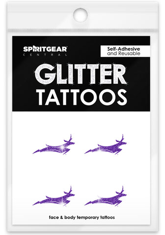 Grand Canyon Antelopes Glitter Tattoos 4 Packs