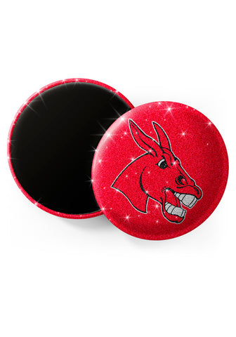 Central Missouri Mules Glitter Magnets