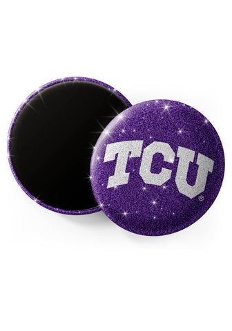 TCU Horned Frogs Glitter Magnets