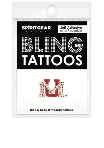 Montana Grizzlies Bling Tattoos