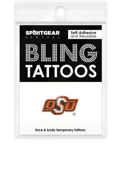 best loved 4e01f f31a3 Oklahoma State Cowboys Bling Tattoos