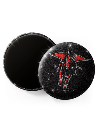 Texas Tech Red Raiders Glitter Magnets