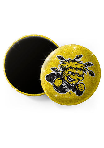 Wichita State Shockers Glitter Magnets