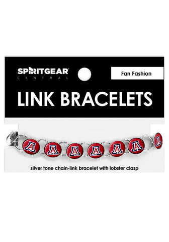 Arizona Wildcats Link Bracelets