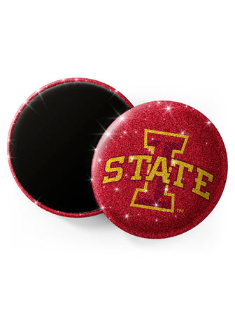 Iowa State Cyclones Glitter Magnets