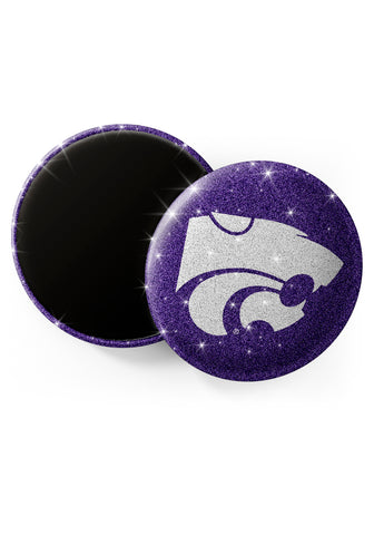 Kansas State Wildcats Glitter Magnets