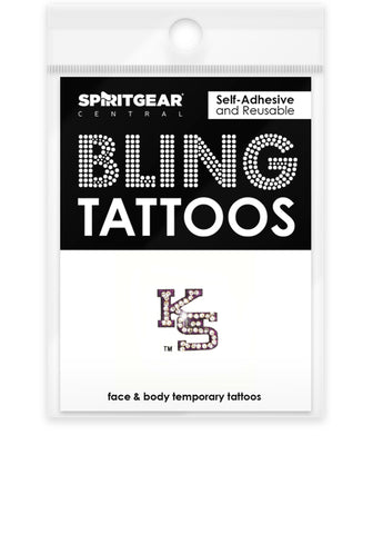Kansas State Wildcats Bling Tattoos