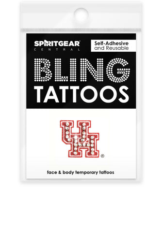 Houston Cougars Bling Tattoos