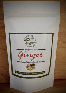 Organic Ginger Hot Chocolate - Mr Coffee's