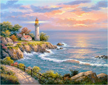 Lighthouse - Paint with Diamonds Kit