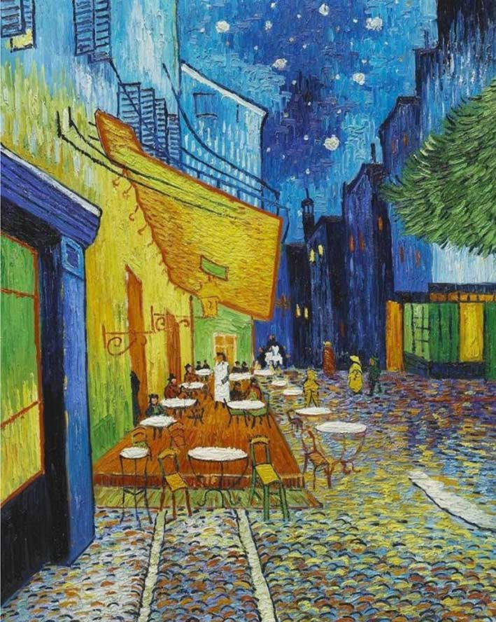 Van Gogh - Paint with Diamonds Kit
