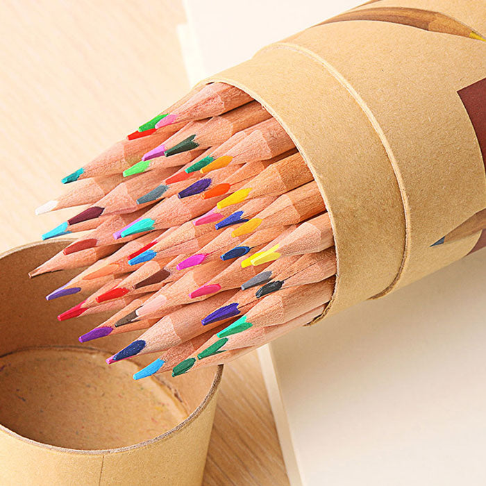 24 Piece Color Pencil Set