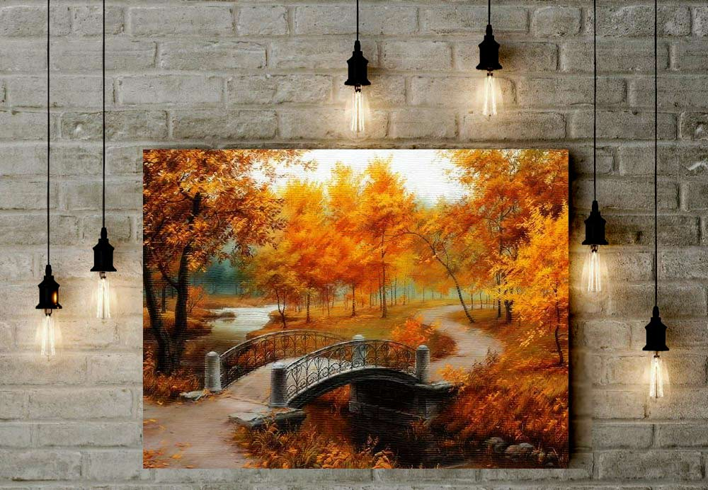 Fall Day - Paint by Numbers Kit