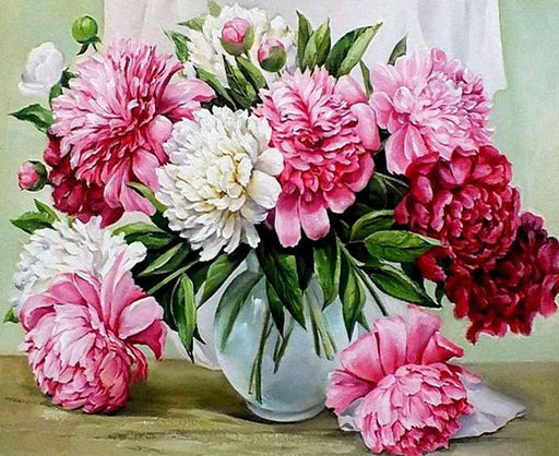 Morning Flowers - Paint by Numbers Kit