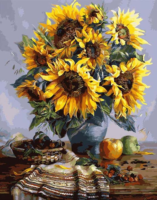 Sunflowers - Paint by Numbers Kit