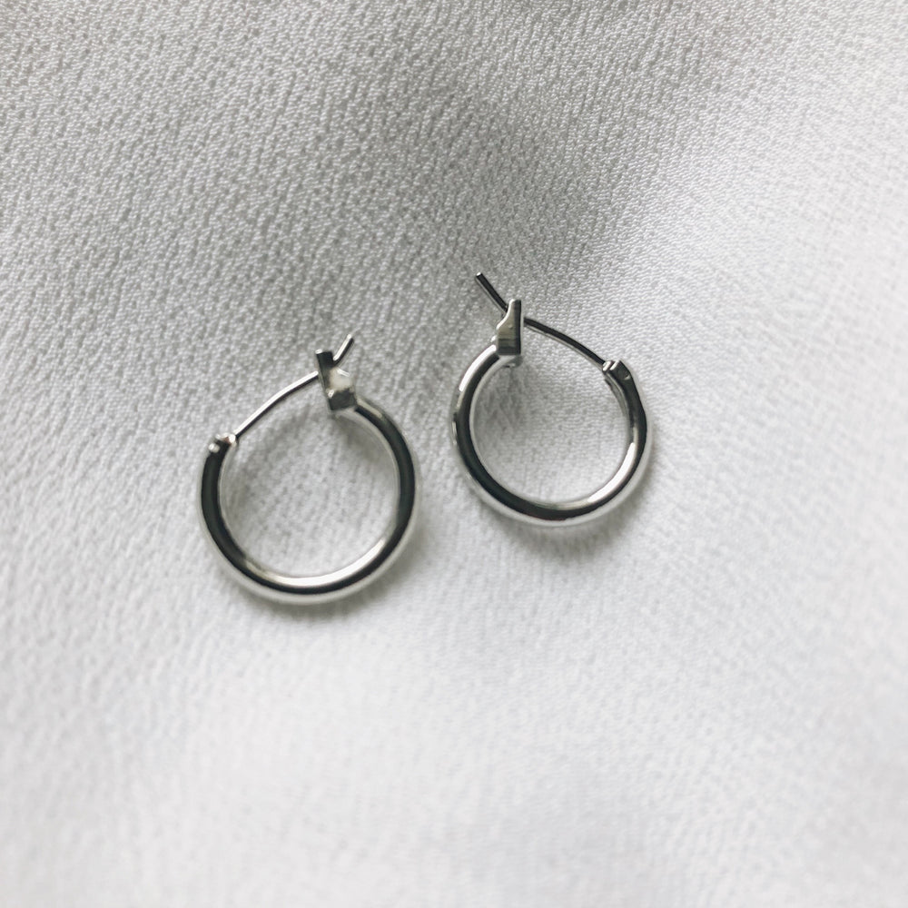 Tina Tiny Hoops Earrings