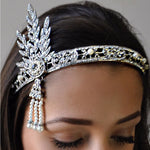 Duchesse Great Gatsby Headpiece Accessories Crystal Sales French Fiasco French Fiasco