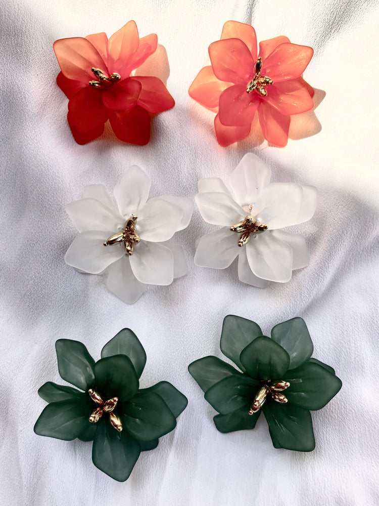 Ameriella Flower Plated Earrings