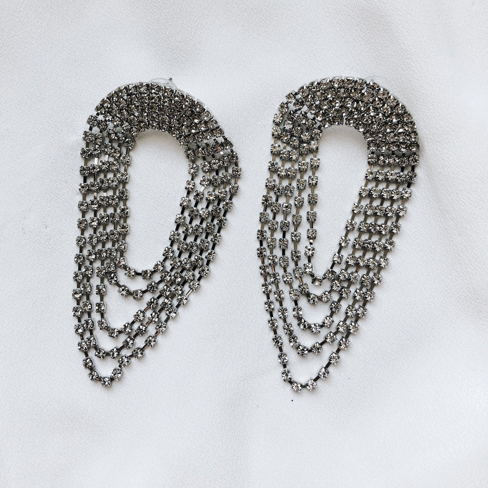 Vanessa Dangle Statement Earrings