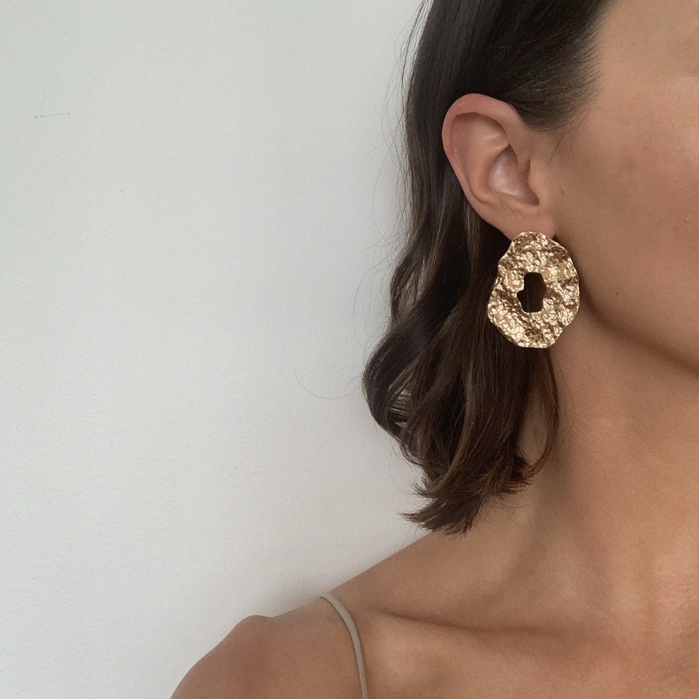 Odelle Gold Hoop Earrings