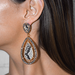 Ivonne Faux Snake Statement Earrings
