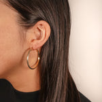 Julie Chic Gold Hoop Earring
