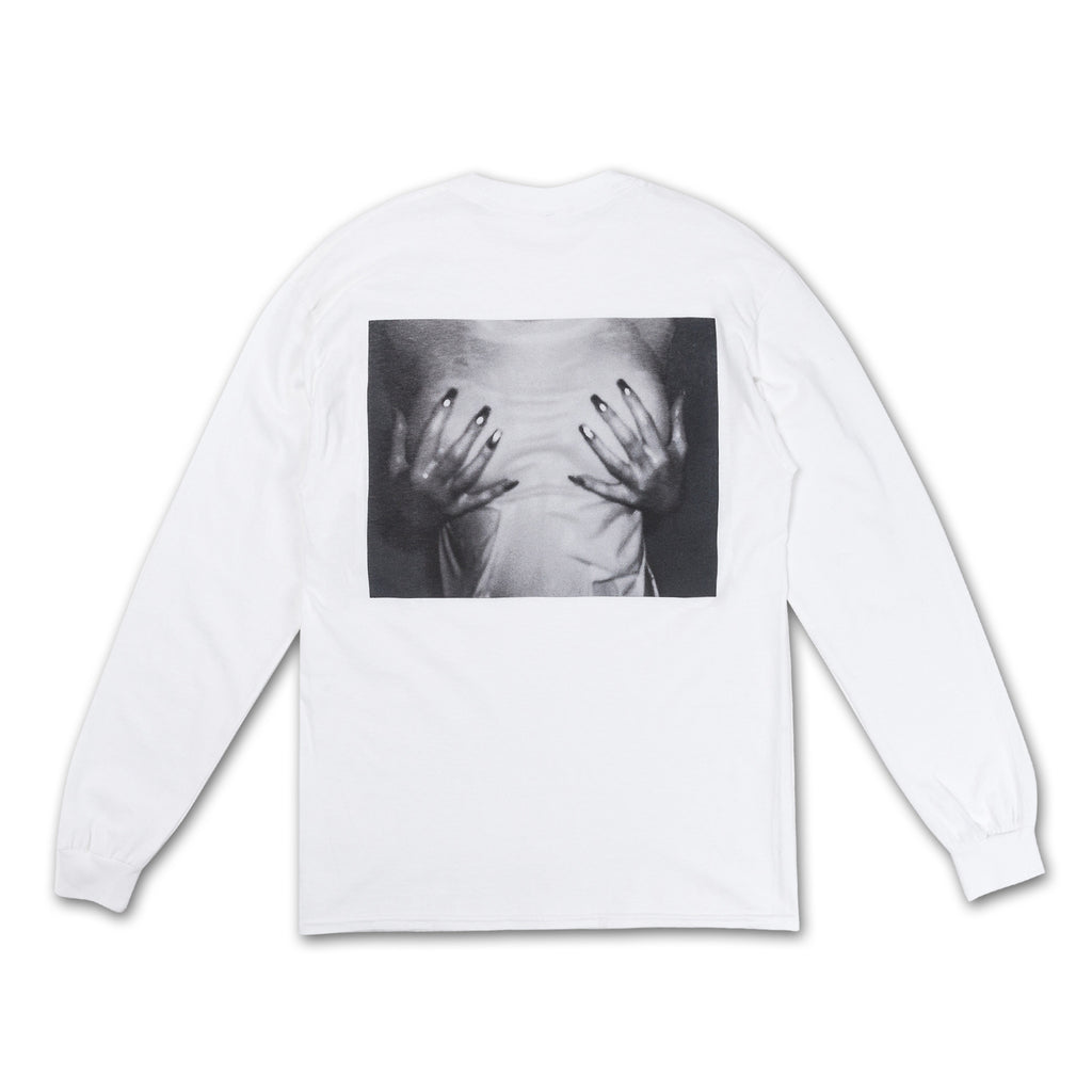 ebc9051039a4 Cover Up Longsleeve Tee hands groping chest back view