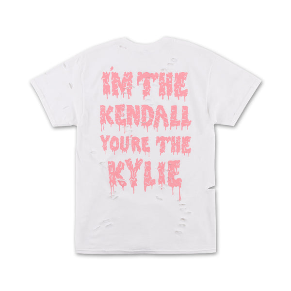 Kendall & Kylie Distressed Tee