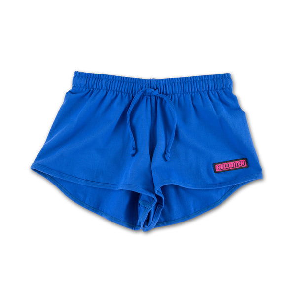 Bright Blue Chill Bitch Sports bottoms