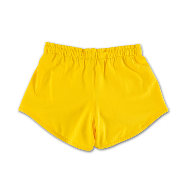 Unfollow Me Yellow Sports Set bottoms only back view