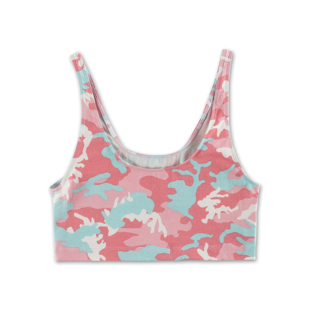 Camo Crop Top - Candy
