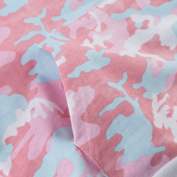 Candy Woodland Camo Hoodie print close up
