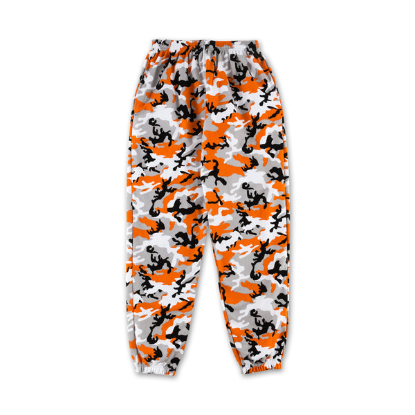Camo Sweatpants - Orange