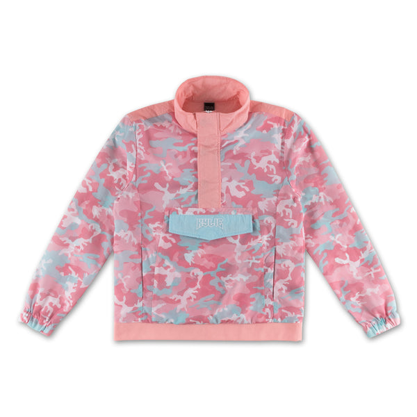 Camo Anorak Jacket - Candy